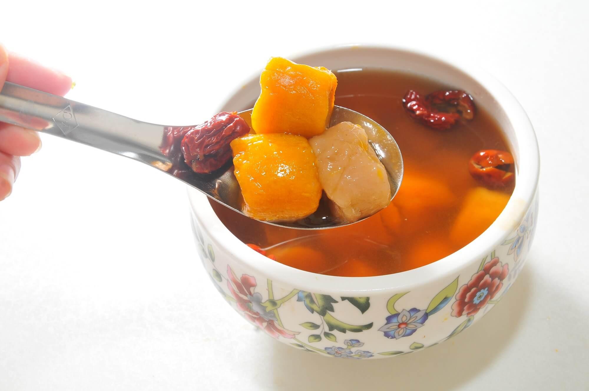 桂圓湯,紅棗桂圓湯,紅棗湯,糖蜜紅棗芋圓蕃薯圓湯,晶巧飲食坊